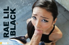 Нарезка лучших моментов с японочкой Рей Лил Блэк