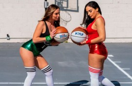 Спортивные телки хороши в грубой  ебле