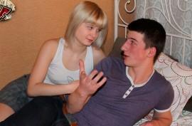 Русскому  пацану приходится отдать девушку  дружку