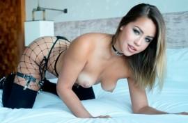 Алина Лопес (Alina Lopez) и горячий большой хуй