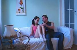 Молодка  Джессика (Jessica Rox) ебется с  ним