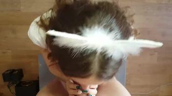 Жена о моей сперме на её лице, русское