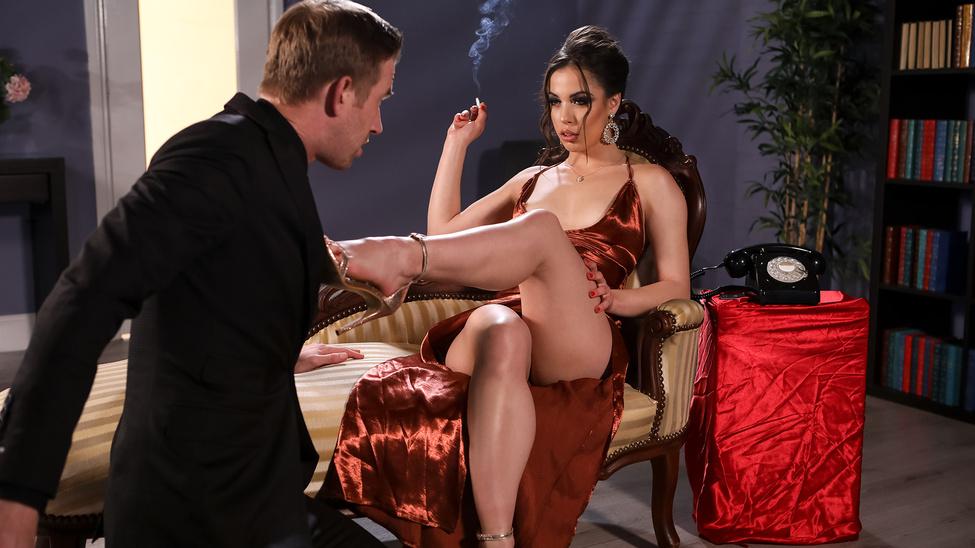Анастасия Брокелин трахается со своим страстным и ненасытным любовником