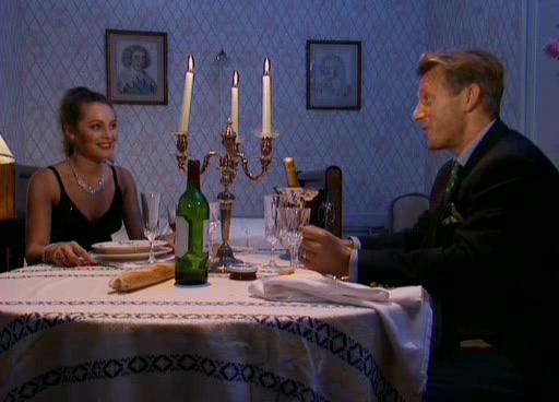Лаура Сенклер - секс после ужина при свечах