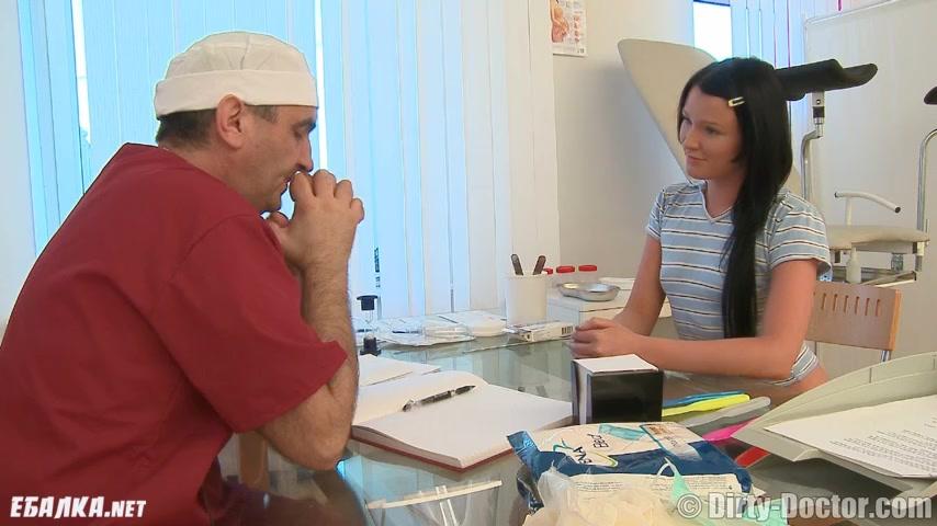 Анюта попала к гинекологу любителю женского анала